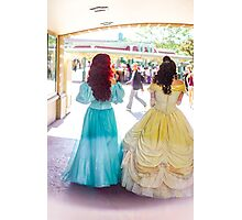 princess walks Photographic Print