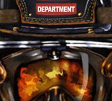 Fire Dept T-shirts Sticker