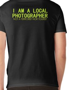 I AM A LOCAL PHOTOGRAPHER Mens V-Neck T-Shirt