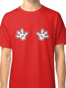 Naughty White Hands Classic T-Shirt