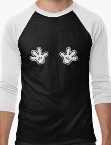 Naughty White Hands Men's Baseball ¾ T-Shirt