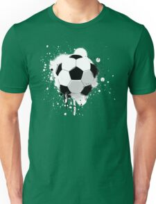 Soccer splatter Unisex T-Shirt