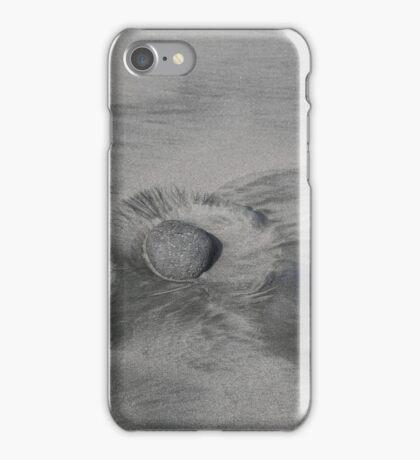 Opunake Silver Sand and Stone iPhone Case/Skin