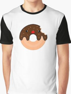 Cute Donut Graphic T-Shirt