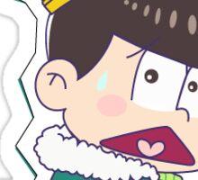 King Choromatsu ( :< Version ) Sticker