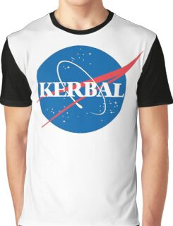 Kerbal Space Program NASA logo (large) Graphic T-Shirt