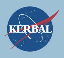 Kerbal Space Program NASA logo (large) One Piece - Short Sleeve