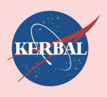Kerbal Space Program NASA logo (large) Kids Tee