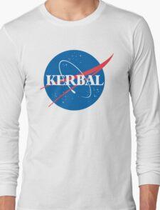 Kerbal Space Program NASA logo (large) Long Sleeve T-Shirt
