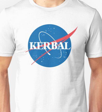 Kerbal Space Program NASA logo (large) Unisex T-Shirt