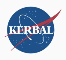 Kerbal Space Program NASA logo (small) Kids Tee
