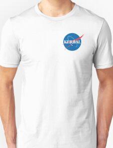 Kerbal Space Program NASA logo (small) T-Shirt
