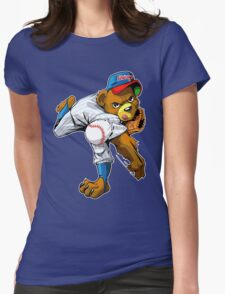 The strongest arm in Chi-Town Womens Fitted T-Shirt