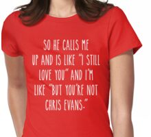 Not Chris E Womens Fitted T-Shirt