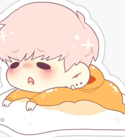 Yoongi x Gudetama Sticker