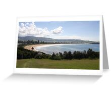 Werri Beach Panorama, NSW, Australia Greeting Card