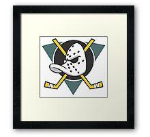 Mighty Ducks of Anaheim Movie NHL Hockey League  Framed Print
