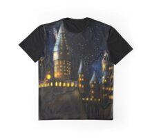 Castle by Night Graphic T-Shirt