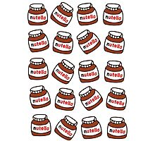 nutella pattern Photographic Print