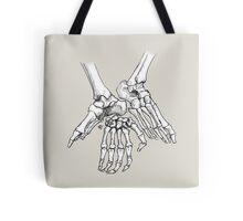 Skeletal Limbs Tote Bag