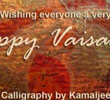 HAPPY VAISAKHI Sticker