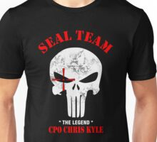 Punisher Seal Team Unisex T-Shirt