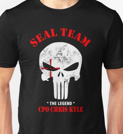 Punisher Seal Team Unisex T-Shirt