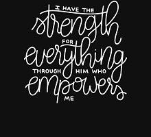 Philippians 4:13 (chalkboard) Unisex T-Shirt
