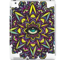 Dharma Wheel Neon Mandala iPad Case/Skin
