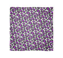 Purple Cheetah Bling Pattern  Scarf