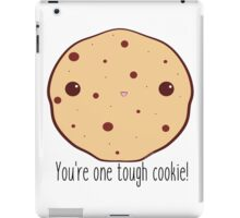 One tough cookie! iPad Case/Skin