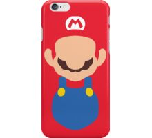 Minimal Super Mario Bros iPhone Case/Skin