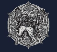 Frenchie Bulldog Mandala Kids Tee