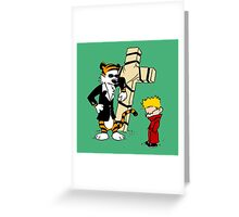 CROSS CALVIN & HOBBES Greeting Card