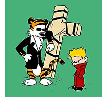 CROSS CALVIN & HOBBES Photographic Print