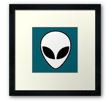 RIOT IN SPACE Framed Print