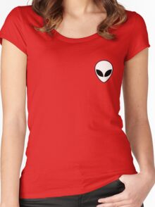 RIOT IN SPACE Women's Fitted Scoop T-Shirt