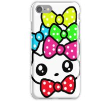Ribbon Kitty iPhone Case/Skin