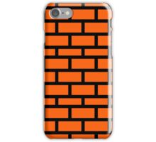 Super Mario Brick Pattern iPhone Case/Skin