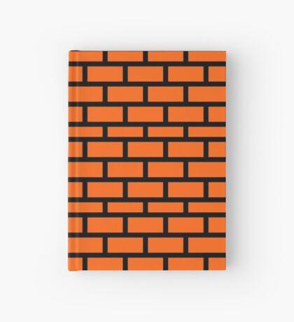 Super Mario Brick Pattern Hardcover Journal