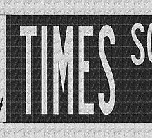 Times Square New York City Street Sign Deco Swing by CecelyBloom