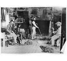 Shearers Hut c1900 Poster