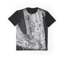 Punk Rock Tree Graphic T-Shirt