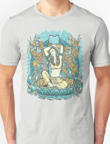 Mexican American Goddess Chicano Vintage LA Pinup Unisex T-Shirt