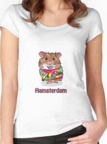 Hamsterdam Women's Fitted Scoop T-Shirt