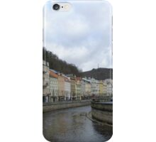 The Cosmopolitan Town of Karlovy Vary, Czech Republic iPhone Case/Skin