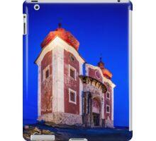 Calvary In Banska Stiavnica at night iPad Case/Skin
