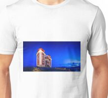 Calvary In Banska Stiavnica at night Unisex T-Shirt