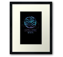 Water Tribe Framed Print