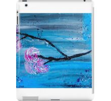 Asymmetry In Nature Abstract Floral Painting iPad Case/Skin